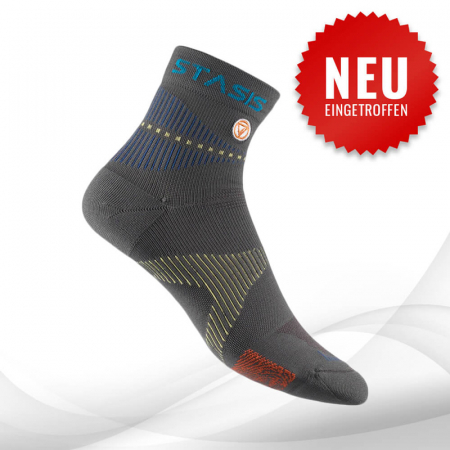 VOXXLife Neuro Socks MINI-CREW - stahlgrau