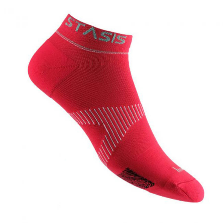 VOXXLife Neuro Socks ATHLETIC NO-SHOW - rot